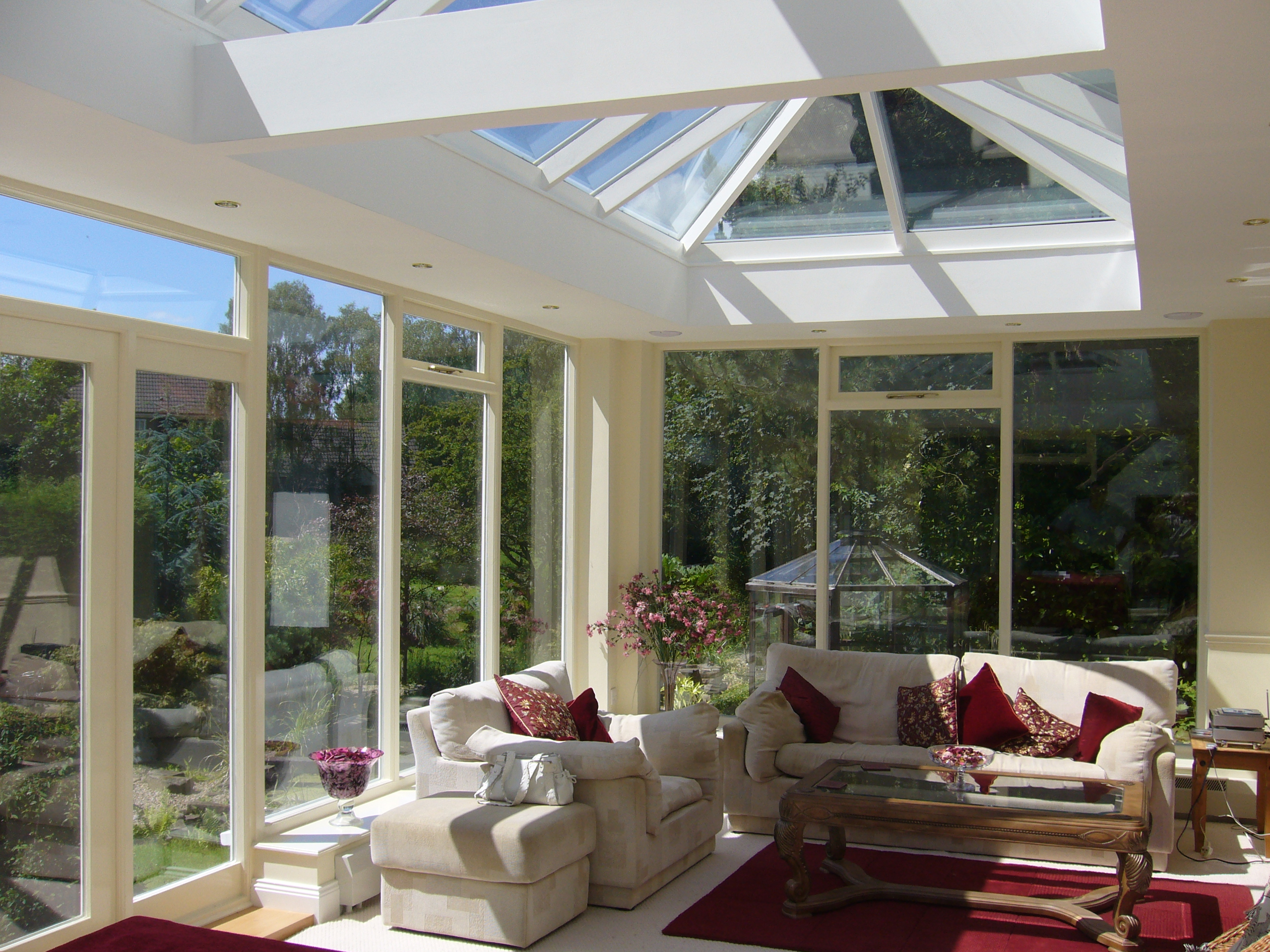 The original orangery company conservatory 2 orangery for Orangery interior design ideas